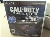 CALL OF DUTY GHOST-PS3